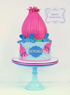 Poppy Troll by Lori Mahoney (Lori's Custom Cakes)