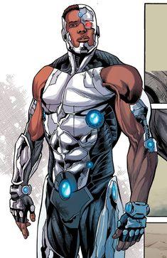 Cyborg Vol 1 // DC Comics Cyborg (Victor Stone) Story: David F. Cyborg Dc Comics, Arte Dc Comics, Cyborg Anime, Teen Titans Cyborg, Dc Heroes, Comic Book Heroes, Comic Books Art, Comic Art, Marvel Heroes