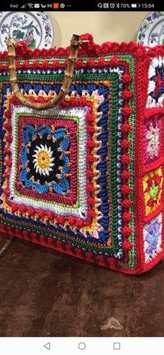 Needlecrafts, Crochet Art, Diy Embroidery, Crochet Accessories, Pattern Making, Fashion Details, Purses, Blanket, Knitting