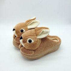 JY Shoes - Rabbit Platform Slippers #rabbit #slippers #platformslippers #rabbitslippers