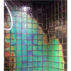 Heat sensitive color changing tiles