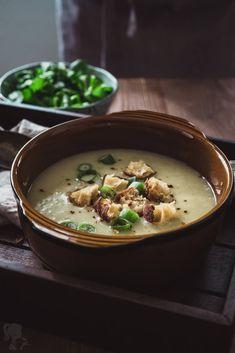 Polievka z jarnej cibuľky / Spring onion soup