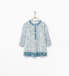 FLORAL PRINT DRESS-Dresses-Baby girl (3 months - 3 years)-KIDS | ZARA United States
