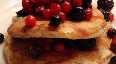recette de la pâte à pancakes Banana Oatmeal Pancakes, Coconut Flour Pancakes, Chocolate Chip Pancakes, Tasty Pancakes, Homemade Pancakes, Pate A Pancake, Light And Fluffy Pancakes, Baker Recipes, Food Allergies