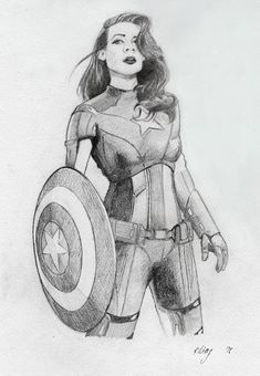 Peggy Carter as Captain America