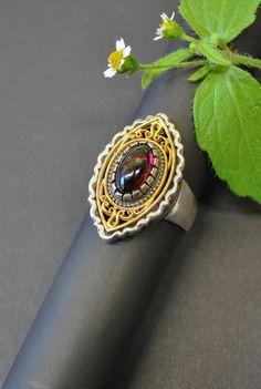 Gemstone Rings, Gemstones, Jewelry, Rhinestones, Handmade, Love, Jewlery, Gems, Jewerly