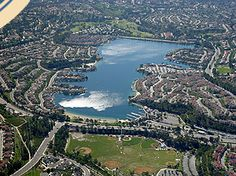 Lake mission viejo, great place to relax, fish or a take a good 3 mile walk around!