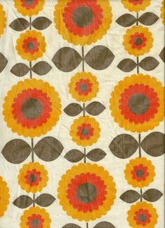 Image result for 70s flowers textiles