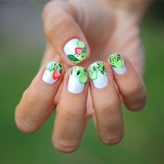 Mojito nails #spring