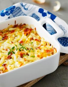 Fish Dishes, Easy Cooking, Food Photo, Cheeseburger Chowder, Macaroni And Cheese, Food And Drink, Koti, Meat, Ethnic Recipes
