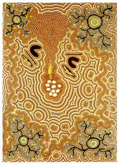 Jeanny Egan Nungarrayi / Warlpiri - Yuendumu c.1948