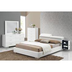 Acme Furniture Manjot 4-Piece Storage Bedroom Set