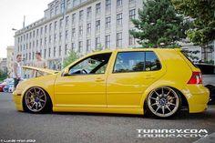 Golf mk4 VW Golf Mk4 - Yellow Car