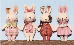 Bunny Happy Heart Patterns e-Patterns