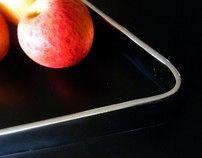 Triangle, Peach, Fruit, Tableware, Food, Design, Dinnerware, Tablewares, Essen