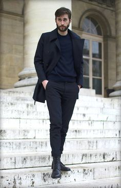 Manteau en laine (Jules Tournier) BG-2.4 - BonneGueule http://shop.bonnegueule.fr/home/41-manteau-en-laine-bg-24.html