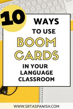 Have you seen Boom Cards, but don't know why you should bother? Check out this option for digital, interactive task cards. These cards allow for digital manipulatives and have the option to give you data on each student's progress. Boom cards in Spanish class can give you all sorts of options to practice and give your students more comprehensible input in an engaging way! This post shows tons of examples for different ways you can use BOOM Cards with your secondary Spanish students! Spanish Lesson Plans, Spanish Lessons, Spanish Classroom, Teaching Spanish, Comprehensible Input, Middle School Spanish, Spanish 1, Classroom Language, Class Activities