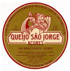 """Queijo Sao Jorge (""""stinky old sock cheese"""" as my husband calls it) - LOVE it with my vovo's bread!"""