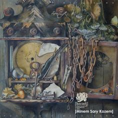 [Minem Sary Kozem] live improvisation cover art Jily, Cover Art, Albums, Painting, Painting Art, Paintings, Painted Canvas, Drawings