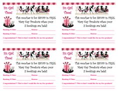 Mary Kay Flyers Templates
