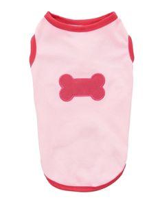 Pink Bone Applique T-Shirt, Main View