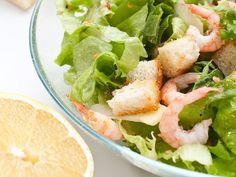 Recette - Salade César aux crevettes