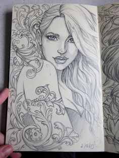 Moleskine 3 sketch by Sabinerich on DeviantArt