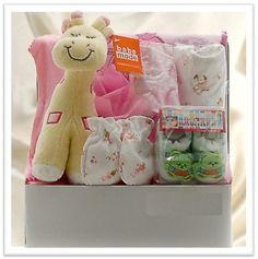 Baby Gift Basket For Girls - $49