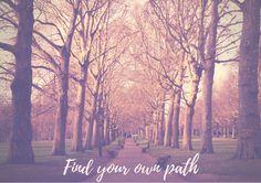 Follow your own path | Travel Inspiration di TheItalianWanderer su Etsy
