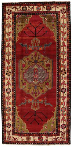 Lori - Bakhtiari Persian Carpet 329x160