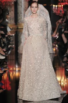Gorgeous Dress from the Elie Saab Haute Couture Fall 2014 Collection