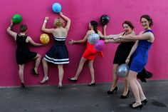 Prom  Ball  Dresses  Party dress  Dance  Makeup  Hair  Balloons  Photography