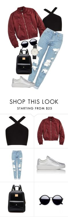 """""""Outfit 158"""" by lexiesimpson on Polyvore featuring BCBGMAXAZRIA, Topshop and Prada Sport"""