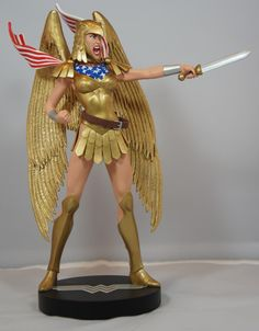 DC Direct Covergirls of the DC Universe Armored Wonder Woman