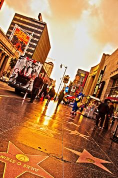 Something nearly every toursit to LA wants to visit at least once.  Find the star of your favorite.....star.  http://www.walkoffame.com/