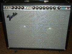 Silver Face Fender Twin Reverb w/JBL's