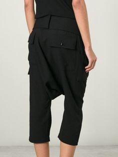 Rick Owens Drop Crotch Trousers - Nike - Via Verdi - Farfetch.com