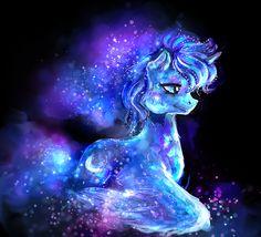 Crystal Pony: Princess Luna by ElkaArt.deviantart.com on @DeviantArt