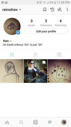 Y'all should go follow my art account on Instagram