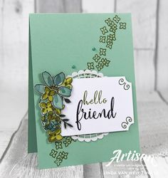 LizDesign: Stampin with Liz Design: Share What You Love - Stampin' Up! Artisan Blog Hop