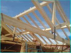 Tejados León Reformas Arias Pavilion, Fair Grounds, Wood, Diy, Travel, Wood Decks, Pole Barn Homes, Terrace Design, Wales