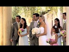 Sequence from a Wedding Video at The Athaeneum in Pasadena
