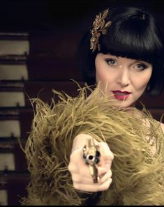 Essie Davis as Sassy Phryne Fisher ~ Miss Fisher's Murder Mysteries Season3