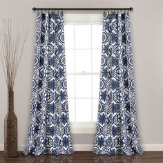 Shop for Lush Decor Marvel Room Darkening Window Curtain Panel Pair. Get free delivery at Overstock - Your Online Home Decor Outlet Store! Get in rewards with Club O! Rod Pocket Curtains, Grommet Curtains, Blackout Curtains, Drapes Curtains, Bedroom Curtains, Bedroom Linens, Burlap Curtains, Hanging Curtains, Drapery
