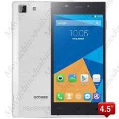 """Movil DOOGEE TURBO-mini F1 pantalla 4.5"""" IPS OGS Android4.4 procesador MTK6732 64-bit 4G LTE 1GB RAM 8GB ROM"""