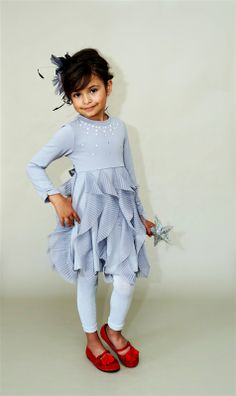Kate Mack - Pretty Kitty - Pink Frills Dress Fall 2013