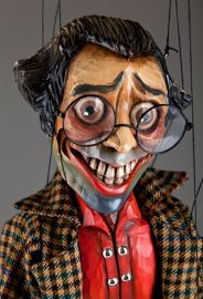 """""""Master of Puppets"""" - some marionettes get a little too scary for me..."""