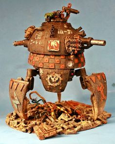 I'm increasingly of the opinion that Ork tanks should be walkers to reflect their weird sensibilities and better differentiate them from other races.