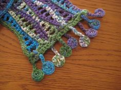 Ravelry: Project Gallery for Nancy's Waves Scarf pattern by Cori Dodds