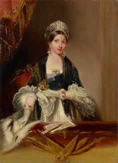 The Royal Collection: Queen Victoria at the Drury Lane Theatre, November 1837